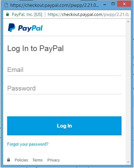 does paypal accept visa debit